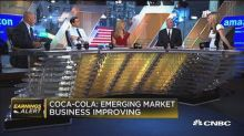 Coca-Cola posts quarterly beat, organic growth up 5%