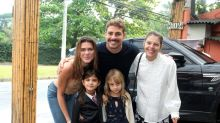 Grazi Massafera e Cauã Reymond celebram 5 anos da filha Sofia