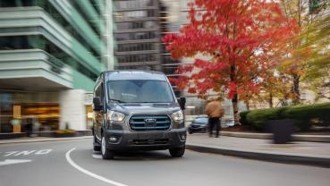 福特即將在2022年發表純電動貨車E-Transit,續航里程可達126英里、價格不到45,000美元