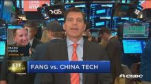 Divergence in FANG vs. China tech