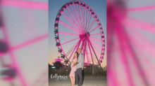 Parents-to-be announce baby's gender with 187-foot Ferris wheel