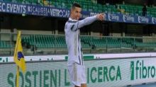 Serie A: Cristiano Ronaldo scores but Juventus held to 1-1 in Verona, remain third