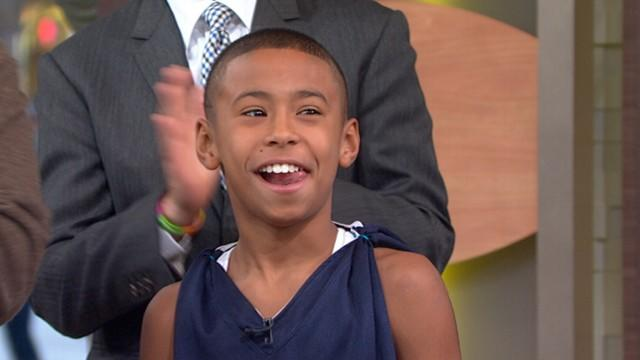 11-Year-Old Basketball Prodigy Plays on High School Team