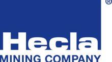 Hecla Participates in Dolly Varden Silver Corporation Financing