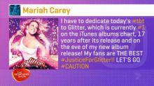 Mariah Carey 2001 album is charting again