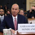 Trump impeachment: Key witness Sondland says president 'directed' quid pro quo, in explosive testimony to congress