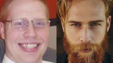 Este modelo se dejó la barba y le cambió la vida