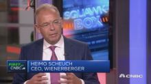Wienerberger CEO: Europe needs to spend a lot more on inf...