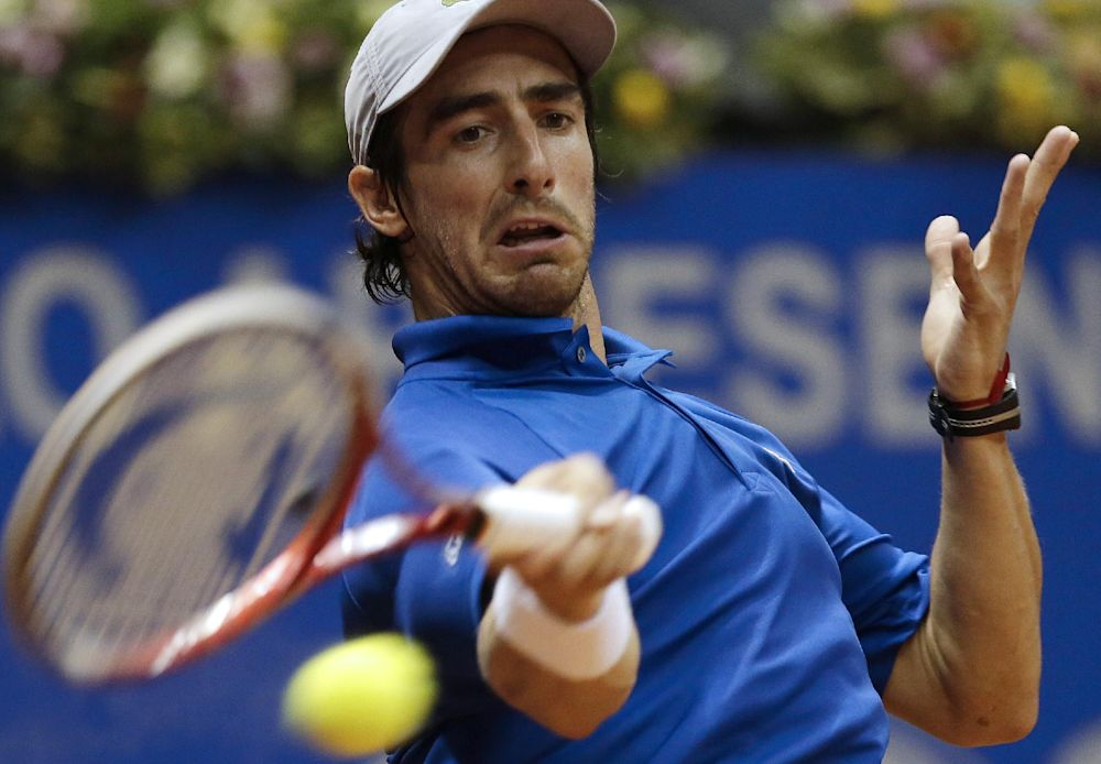 Qualifier Cuevas upsets Seppi in Umag 2nd round