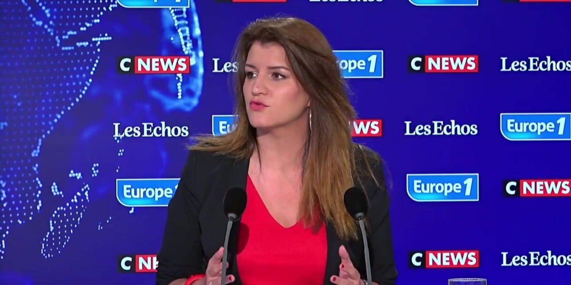 """Zemmour candidat : pour Marlène Schiappa, """"c'est très dangereux de jouer le jeu de l'extrême droite"""""""