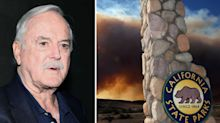 John Cleese criticised for Twitter joke about California wildfires