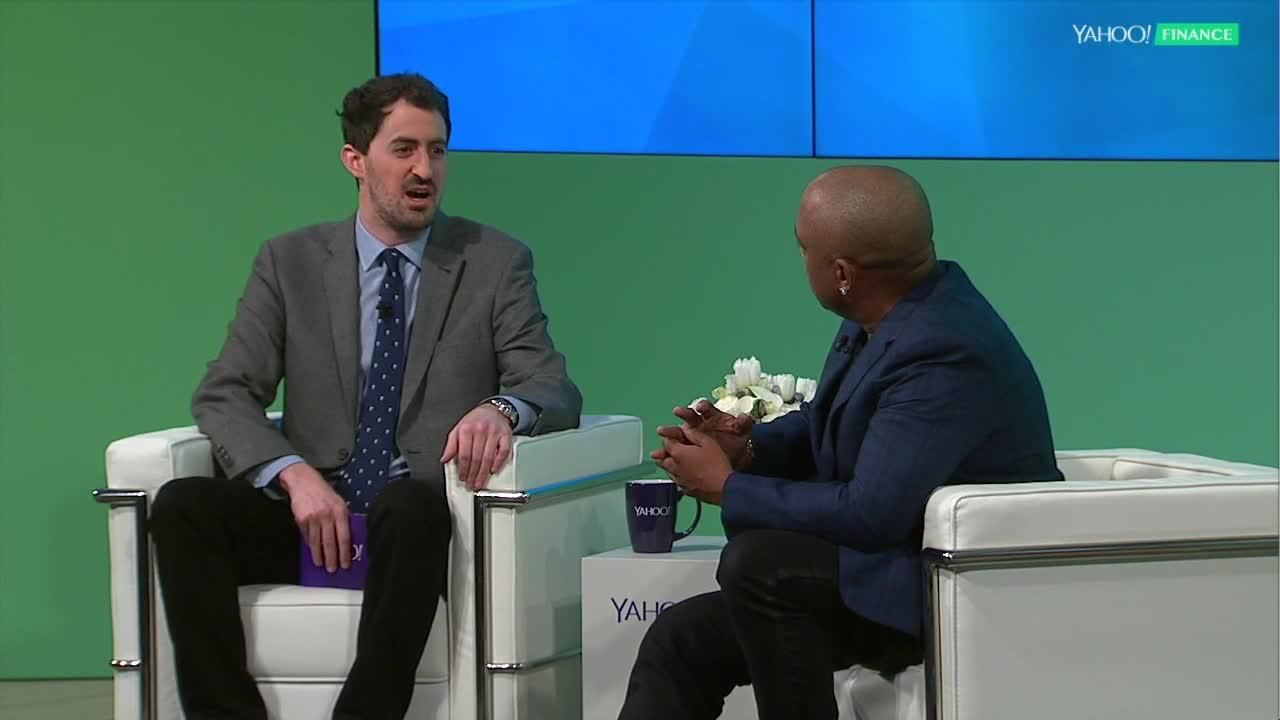 Watch daymond johns full interview at yahoo finance summit malvernweather Image collections