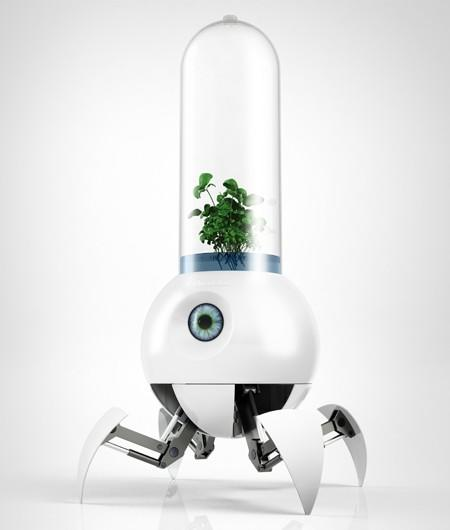 Le Petit Prince roving greenhouse robot is overwhelmingly cute, useful