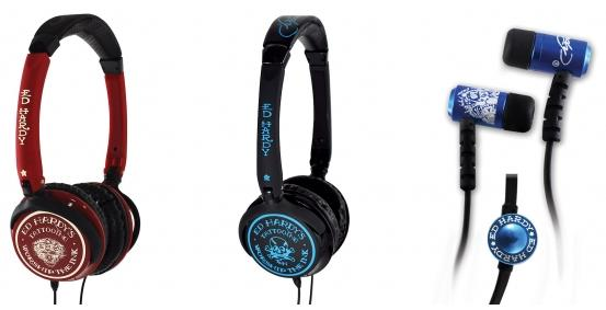 Ed Hardy headphones hope to ink up your ears