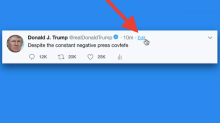 Someone finally made a simple way to edit your tweets, inspired by President Trump's famous 'covfefe' typo (TWTR)