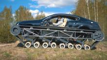 "Bentley ""Ultratank"": Sport-Limousine auf Panzerketten"