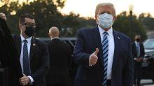 Trump news - live: President's Twitter meltdown sparks Covid 'roid rage' concerns