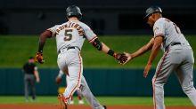 Giants rookie Mike Yastrzemski returns to Boston, making his own way in the baseball world