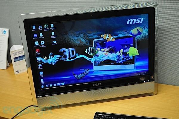 MSI's Wind Top AE2420 3D hits US shores for $1,800, Blu-ray and glasses included