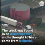 Dozens of dead bodies discovered inside truck trailer