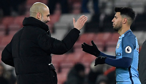 Premier League: Guardiola: Agüero macht jetzt das, was ich will