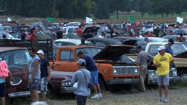 Hundreds of classic cars hit the auction block