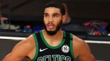 NBA 2K21 ratings: Celtics' Jayson Tatum reacts to joining exclusive club