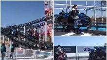 【有片】坐「電單車」玩日本過山車 超突破3月1日有得玩