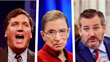 Ted Cruz blocks resolution honoring Ginsburg after Tucker Carlson pushes conspiracy theory about her