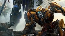 Bumblebee falls before Prime in new Transformers: The Last Knight poster