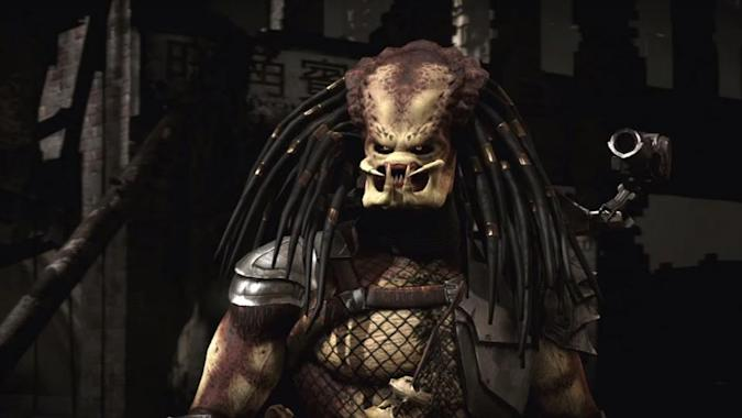 Check out Predator's gory moves in 'Mortal Kombat X'