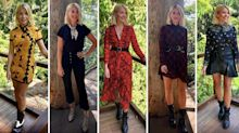 Holly Willoughby's 'I'm a Celebrity' wardrobe continues to spark criticism: 'Is she doing a fashion show or presenting?'