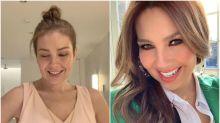 La foto de Thalía sin maquillaje que triunfa en Instagram