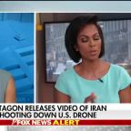 Pentagon releases footage of US drone being shot down by Iran