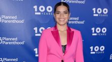 America Ferrera recalls her triathlete journey