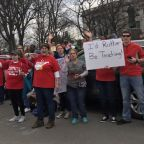 "Teachers Sing ""We're Not Gonna Take It"" on Return to West Virginia Capitol"