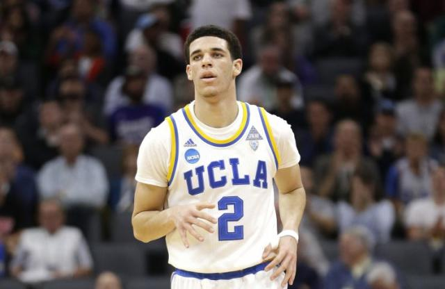 Lonzo Ball revitalized UCLA this past season. (AP)
