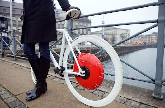 MIT's Copenhagen Wheel turns your bike into a hybrid, personal trainer