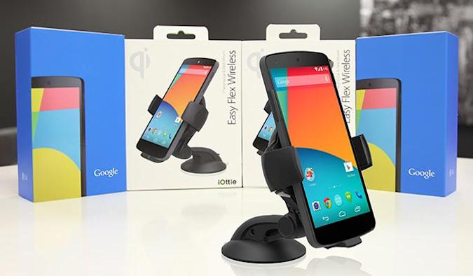 Engadget giveaway: win a Nexus 5 and wireless charger courtesy of iOttie!