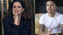 Luiza e Biel protagonizam o primeiro barraco de 'A Fazenda 12'