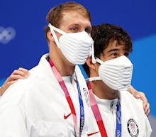 Team USA's face masks are getting a gold medal in freaking people out