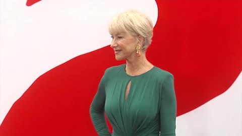 Dame Helen Mirren Wears Stripper Heels to Red 2 Premiere
