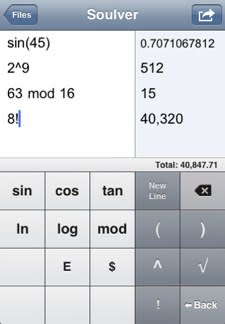 Soulver brings a calculator scratchpad to your iPhone