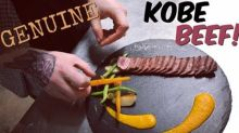 Vlogger Shows How Rare Kobe Beef Is Cooked and Served