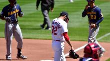 Cardinals Drop Sunday's Finale with Brewers