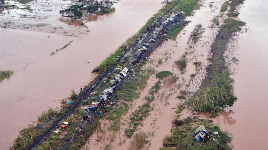 Devastación en el sureste africano por el ciclón Idai