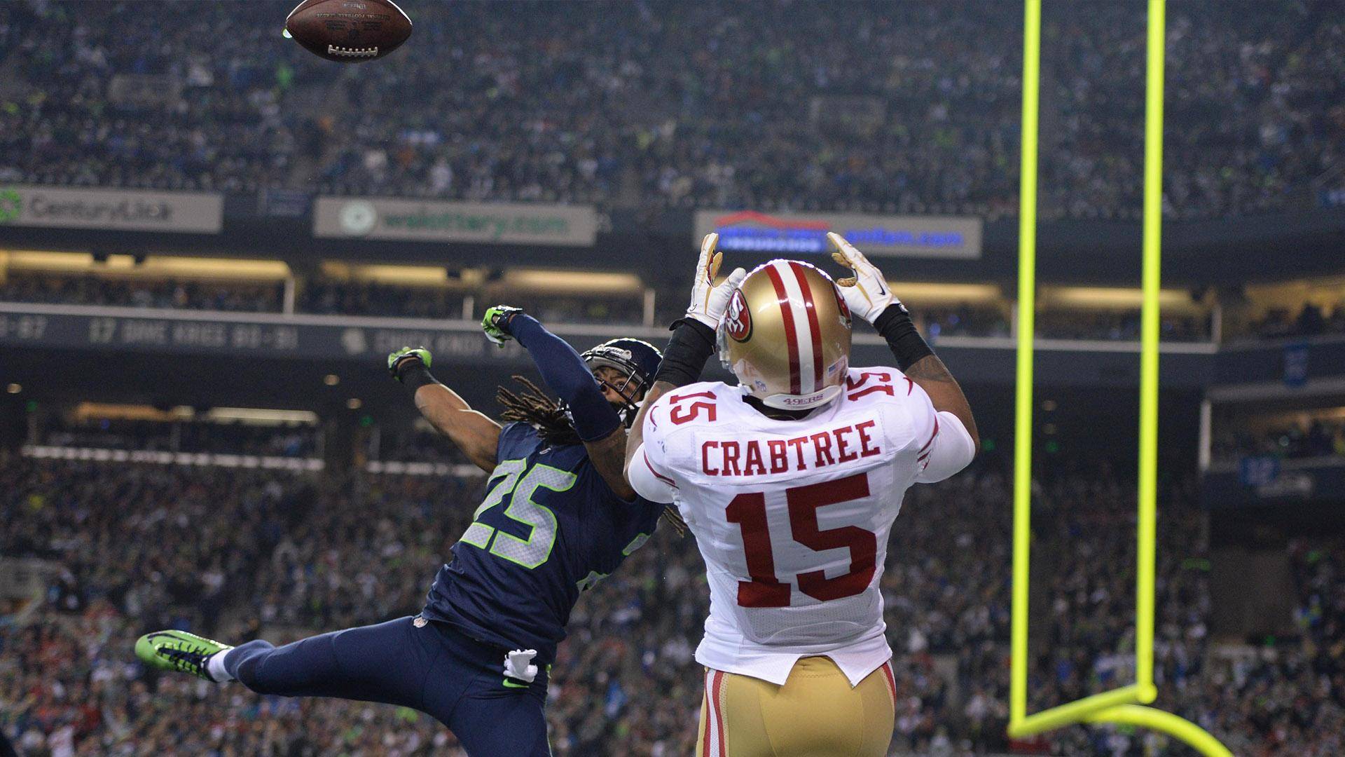 How Richard Sherman's brother spurred rivalry with Michael ... |Richard Sherman Crabtree Meme
