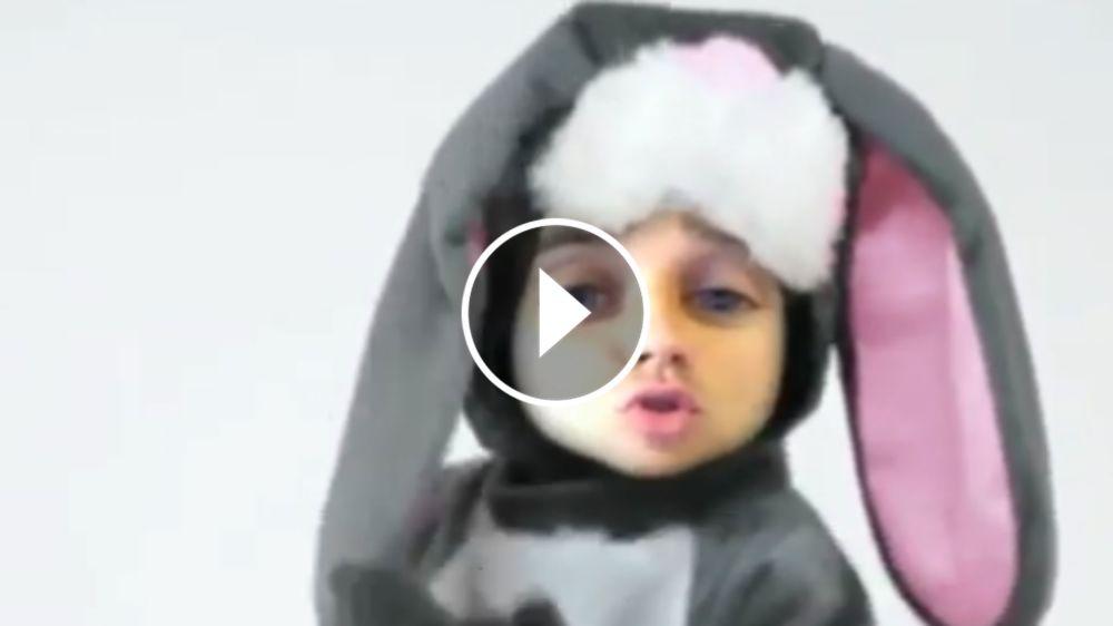 VÍDEO: Griezmann se convierte en un conejo