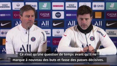 Foot - L1 - PSG : Pochettino : «Je suis content du rendement de Kylian»