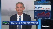 Akamai shares slide despite earnings beat